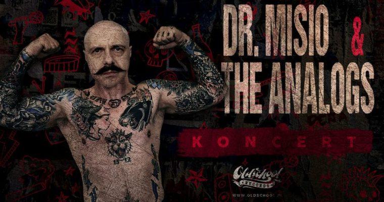 The Analogs + Dr. Misio – Klub Ucho